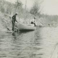 AL and AB Karras, Beaver River, 1937