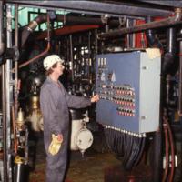 Arnold Schellenberg of [Colette?], refinery operator, CSP Nipawin