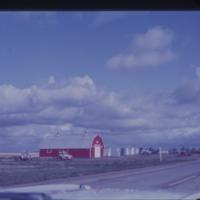 Barn and granaries