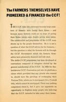 C.C.F. Land Policy