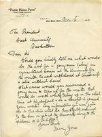 Dean Rutherford's Correspondence Jones Nov 12