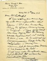Dean Rutherford's Correspondence Thomson Dec 19