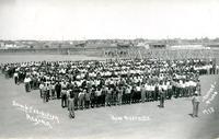 Camp Exhibition Regina: New Recruits, 1918