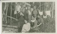 [Six women at Camp Kilkare]