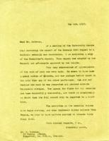 Correspondence with Reginald Bateman's father, 1918 - 1919