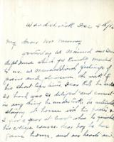 Correspondence re: Robert C. Grant , 1916